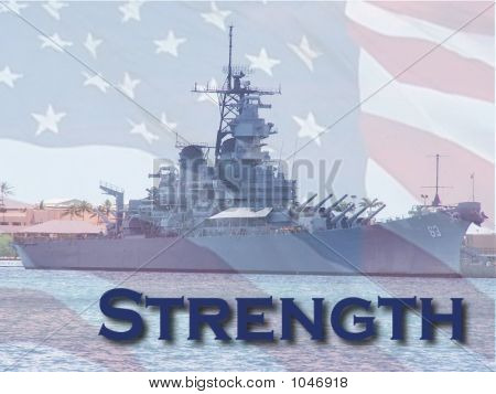 The American Spirit Of Strength