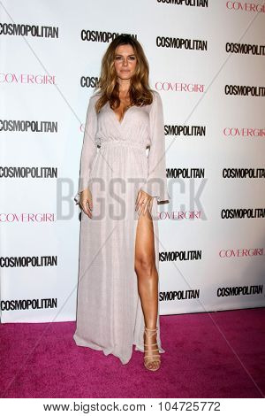 LOS ANGELES - OCT 12:  Maria Menounos at the Cosmopolitan Magazine's 50th Anniversary Party at the Ysabel on October 12, 2015 in Los Angeles, CA