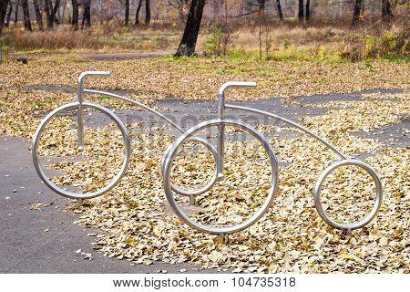 Chrome Bicycle
