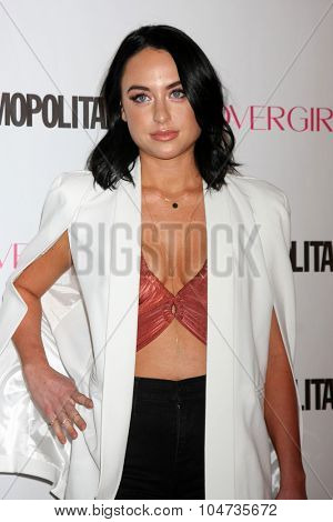 LOS ANGELES - OCT 12:  Alexx Mack at the Cosmopolitan Magazine's 50th Anniversary Party at the Ysabel on October 12, 2015 in Los Angeles, CA