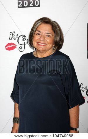 LOS ANGELES - OCT 11:  Fran Visco at the Les Girls 15 at the Avalon Hollywood on October 11, 2015 in Los Angeles, CA