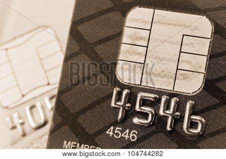 Credit Card And Chip Macro