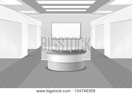 Lobby or reception interior