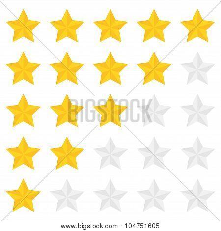 Five Star Ranking