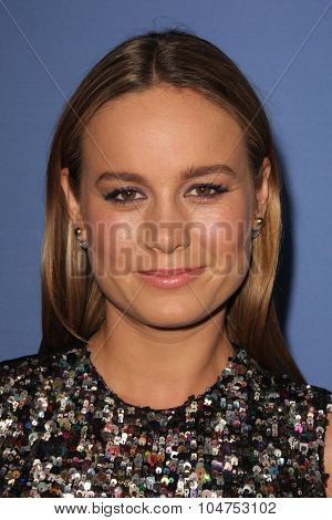 LOS ANGELES - OCT 13:  Brie Larson at the