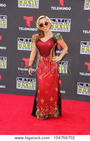LOS ANGELES - OCT 8:  Astra at the Latin American Music Awards at the Dolby Theater on October 8, 2015 in Los Angeles, CA