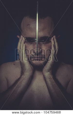 psychosis, concept of mental disorder, schizophrenia and depression