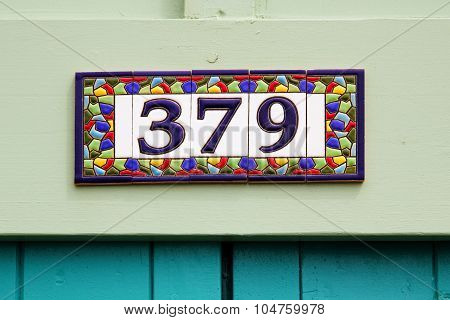 Numbers On Tiles