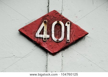 401 On Red Shape
