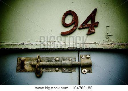 Old Lock, Number 94