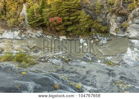 Canyon With River La Blanche Torrent