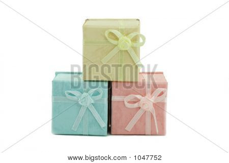 Three Colored Boxes