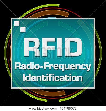 RFID Black Technical Circle