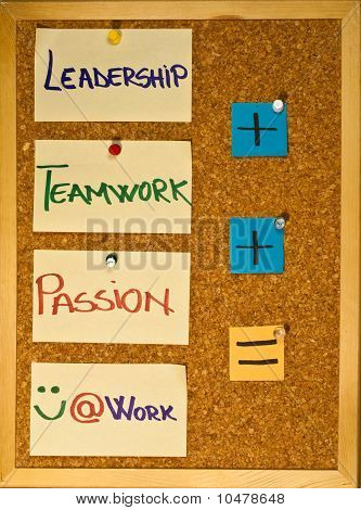 Leadership, Teamwork And Passion