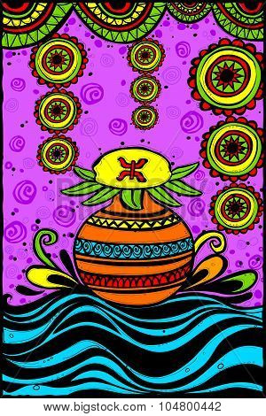 Mangal Kalash for Happy Dussehra