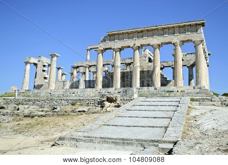temple of Aphaia Aegina Greece