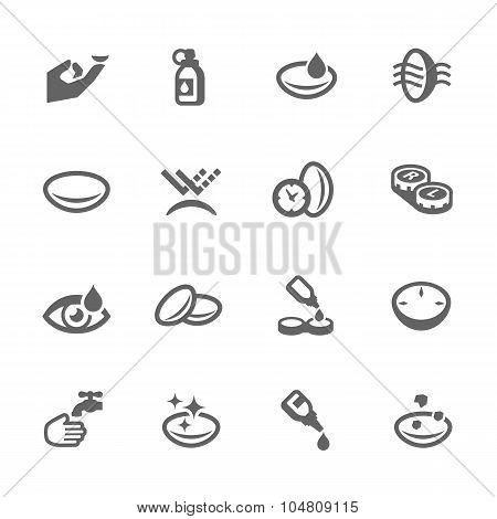 Eye Lens Icons