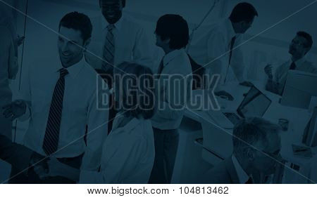 Group of Business People Meeting Discussion Concept