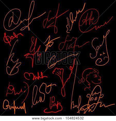 Concocted signature set