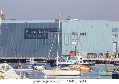 Princess Yachts Sign