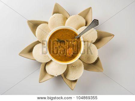 idli sambar, south indian food