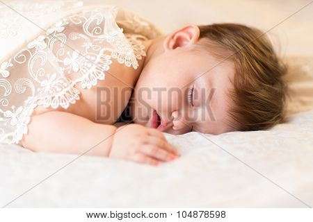 sleeping baby child kid