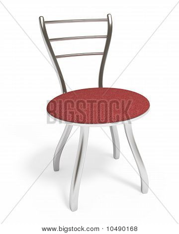 Chair, Isolated on White, Clipping Path Included
