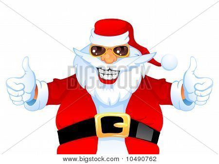 Cool Happy Santa