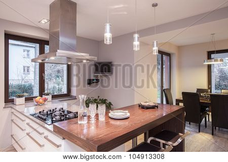 Sunny Place For Cooking