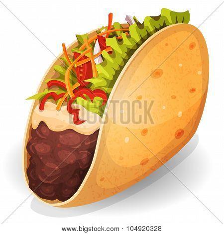 Mexican Tacos Icon