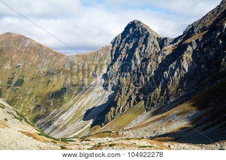 Smutne sedlo at Tatra mountains