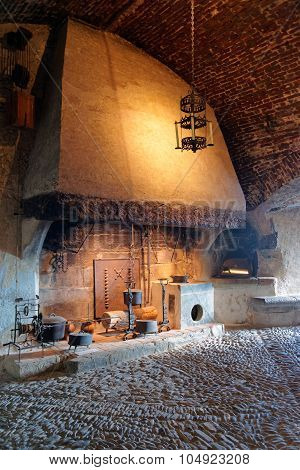 Exposition Of Ancient Houseware Held At The Castle Of Gruyeres In Switzerland