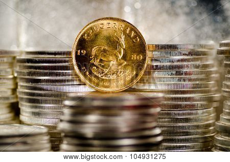 Gold Krugerrand Coin Abed Silver Coins