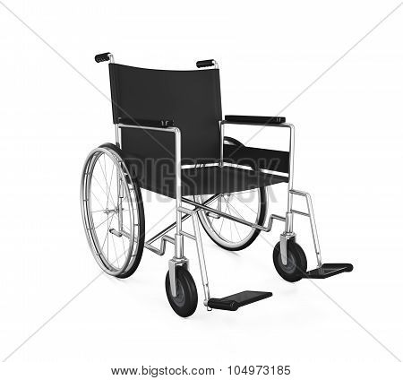 Wheelchair Isolated