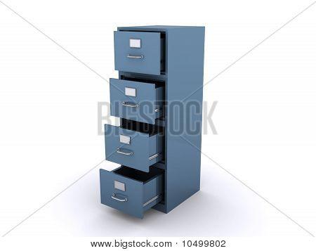 Empty File Cabinet