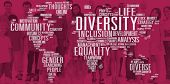 Diverse Equality Gender Innovation Management Concept poster