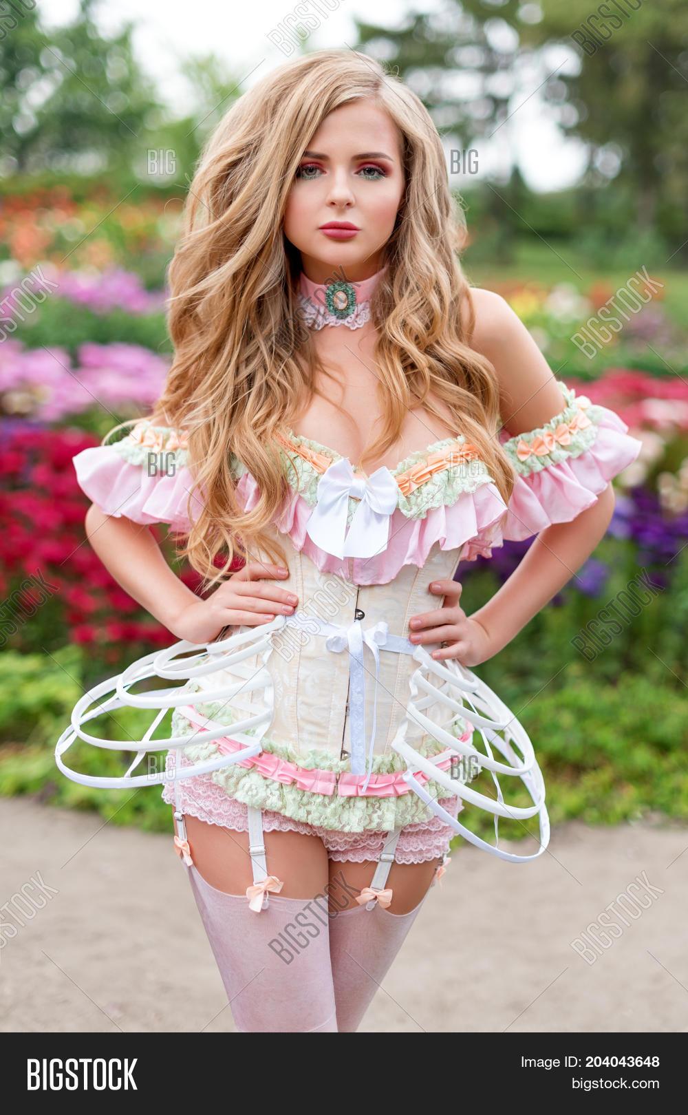Sexy Blonde Woman Image  Photo Free Trial  Bigstock-7433