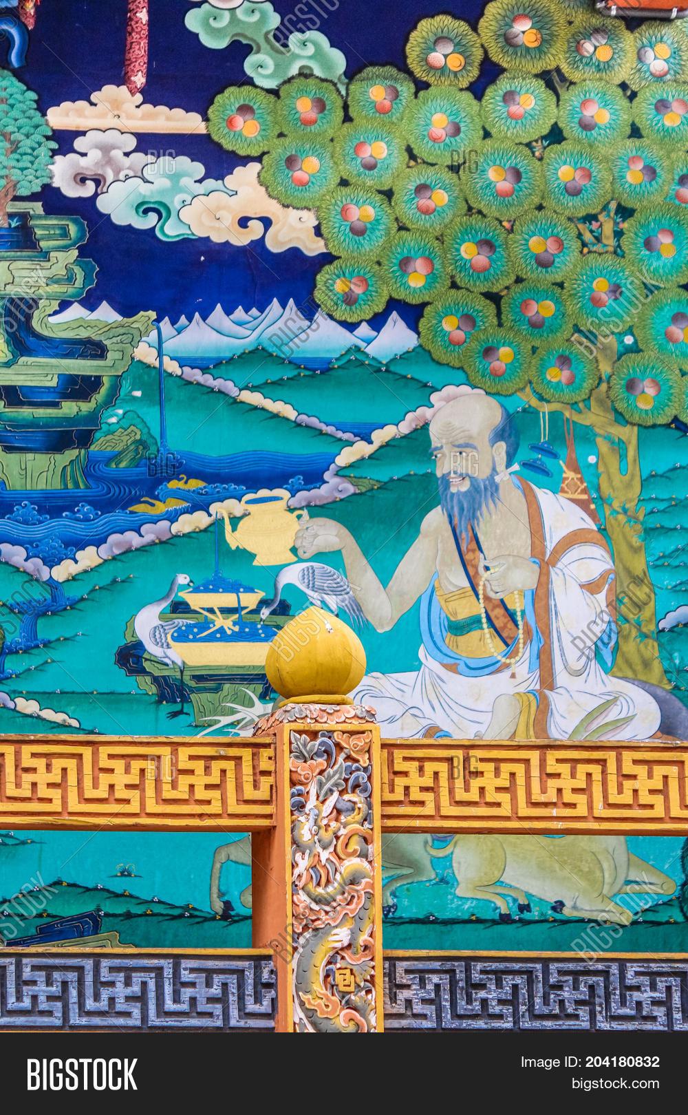 Punakha Bhutan Image Photo Free Trial Bigstock