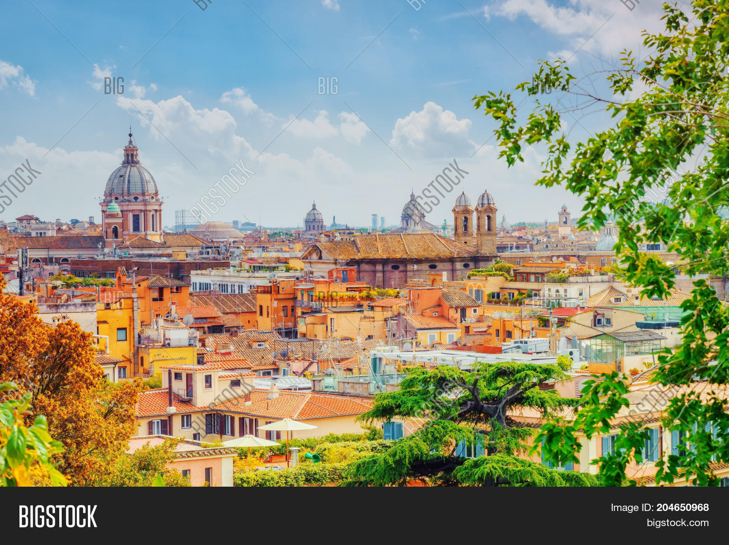 View City Rome Above, Image & Photo (Free Trial)   Bigstock