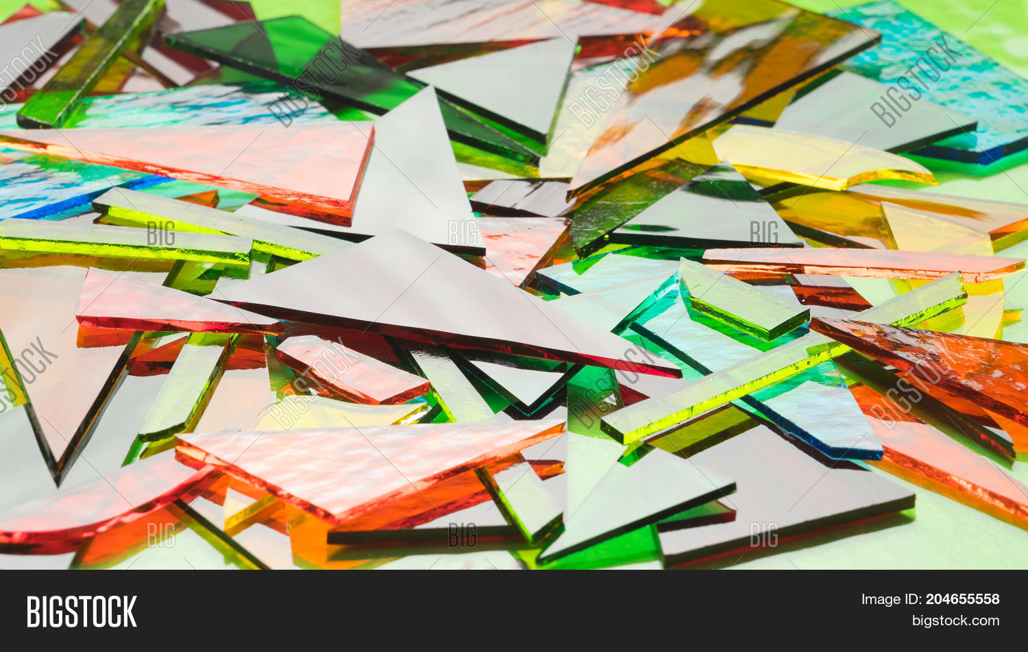 Pile Coloured Stained Image & Photo (Free Trial) | Bigstock