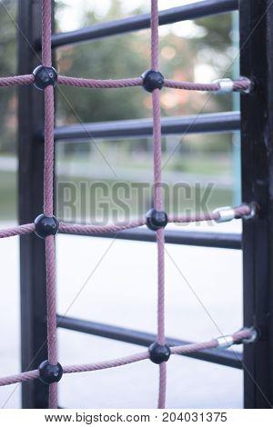 Park Climbing Ropes Frame