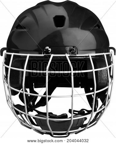 Sport sports helmet football helmet game white background