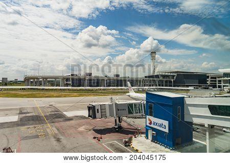 Arrival Hall In Kuala Lumpur International Airport 2 Malaysia