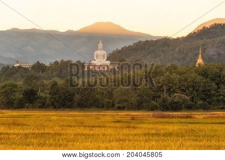 Wat Phra That Doi Lon of natureTak Thailand
