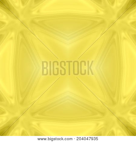 Festive geometrical yellow abstract square design pattern