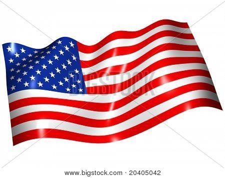 Flag the USA
