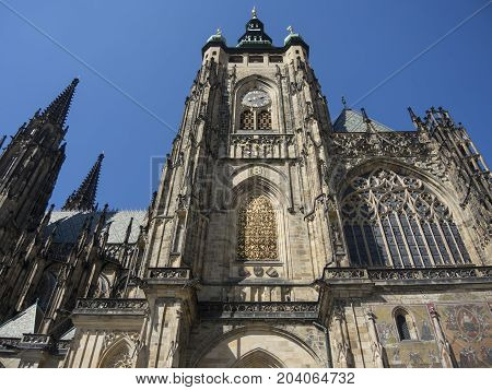 Cathedral Of St Vitus Prague