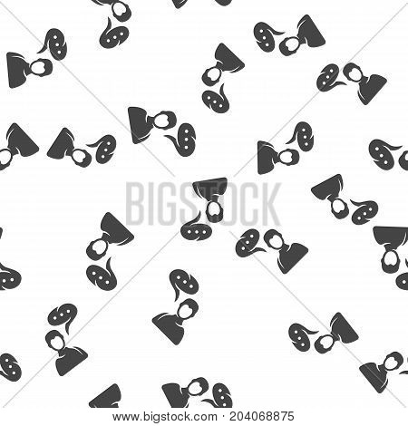 Talk seamless pattern. Vector illustration for backgrounds