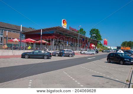 Rest Stop On The German Autobahn