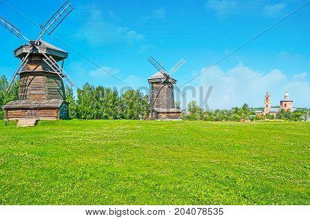 The Landmarks Of Suzdal
